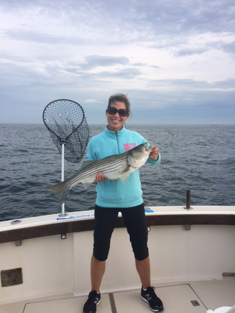 Jennifer RI Fishing Charter July 15, 2018