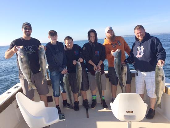 block island fishing charter at the rip