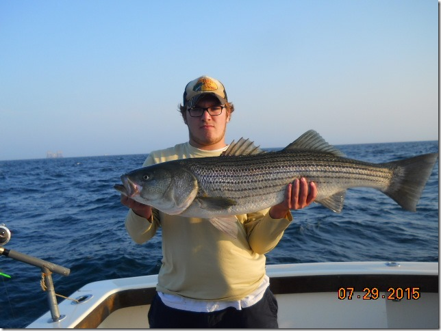 Aces Wild Striper tours Another Day on the Southwest Corner