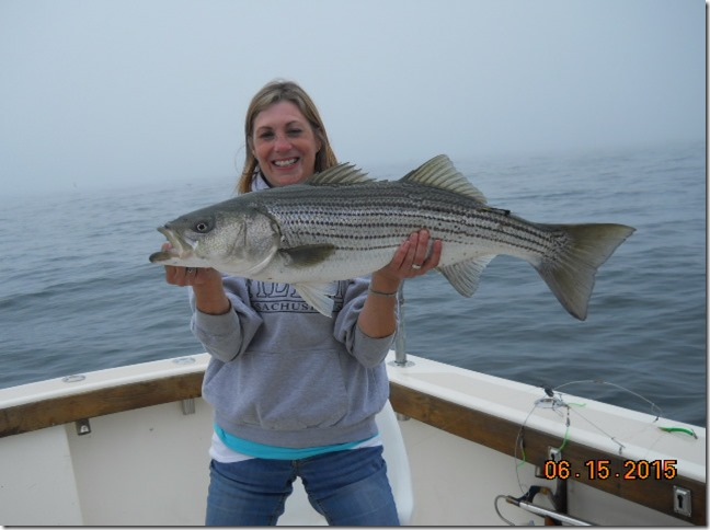 Aces Wild RI fishing charters on a Block Island 6/16