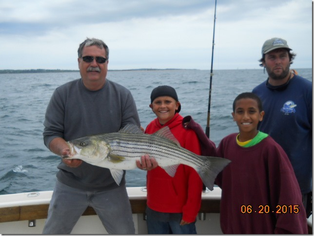 Striped Bass Fishing Charter