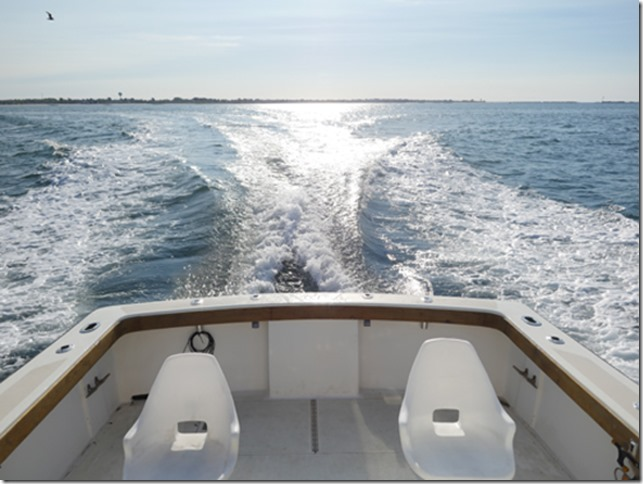 ri Charter fishing on aces wild - heading out for flounder fishing and scup