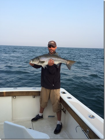 Block Island Striped Bass Fishing Charter