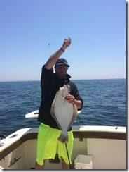 Aces Wild striped bass fishing charter First Charter of the Season