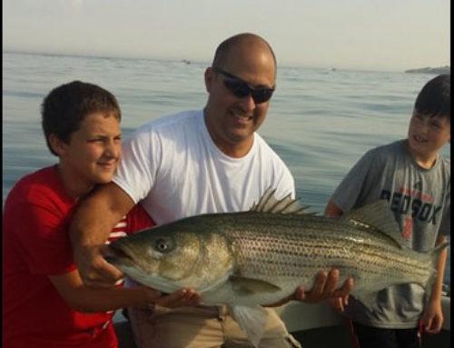 RI Charter Fishing for Stripers & Blues