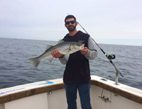 RI Striped Bass charter at southwest corner – 6/10/2018