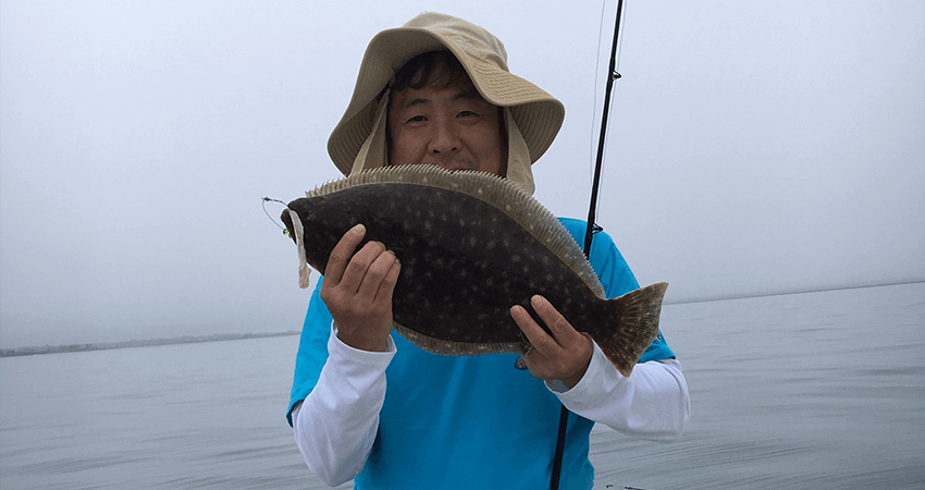 Aces Wild first Flounder Charter of 2020