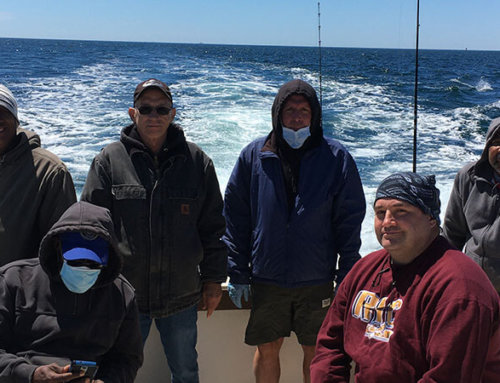 Action Packed Striper and Flounder Charter off Block Island
