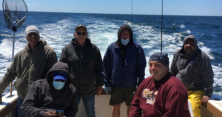 Block Island Striper and Flounder Charter on the Aces Wild