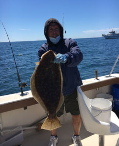 Block Island Flounder Charter on the Aces Wild