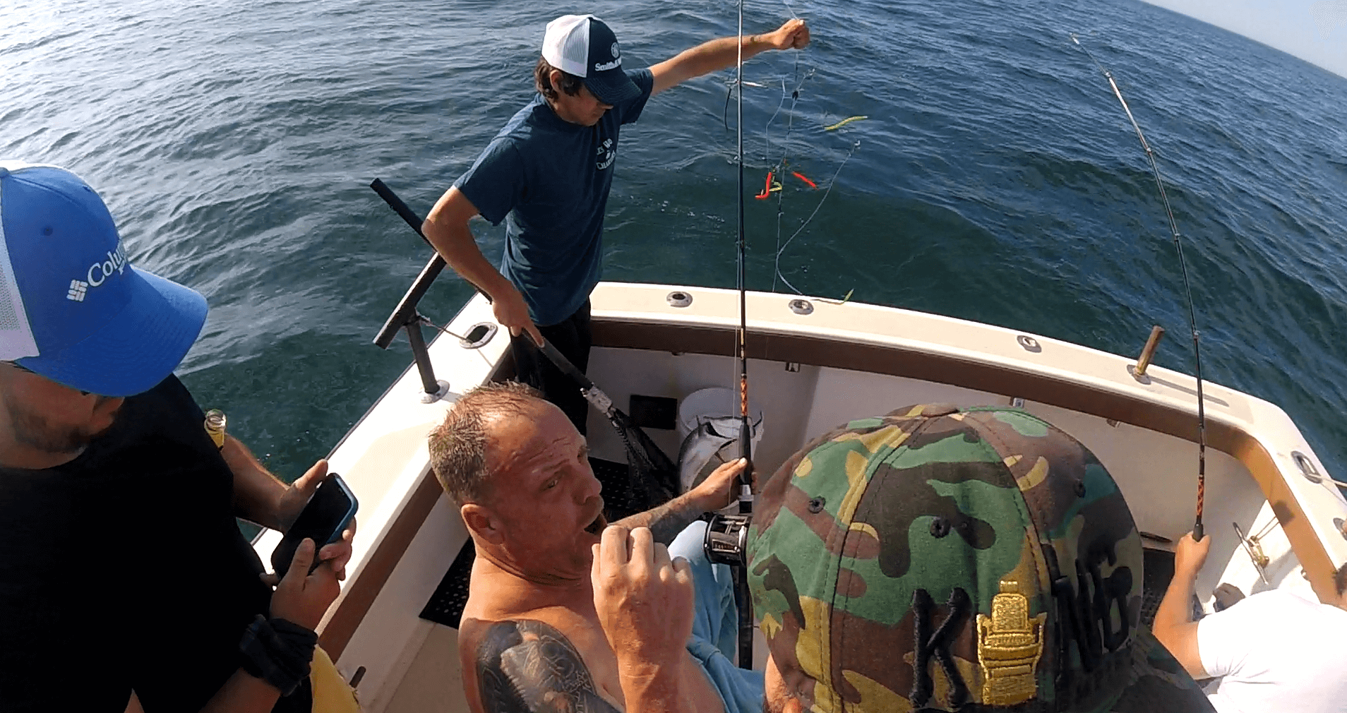 Rhode Island Striped Bass charter on the Aces Wild june 9, 2020
