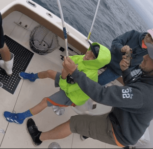a rhode island striped bass charter is for kids too R2