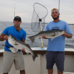 Aces Wild Striped Bass Charter in Rhode Island August 8 2002 R1
