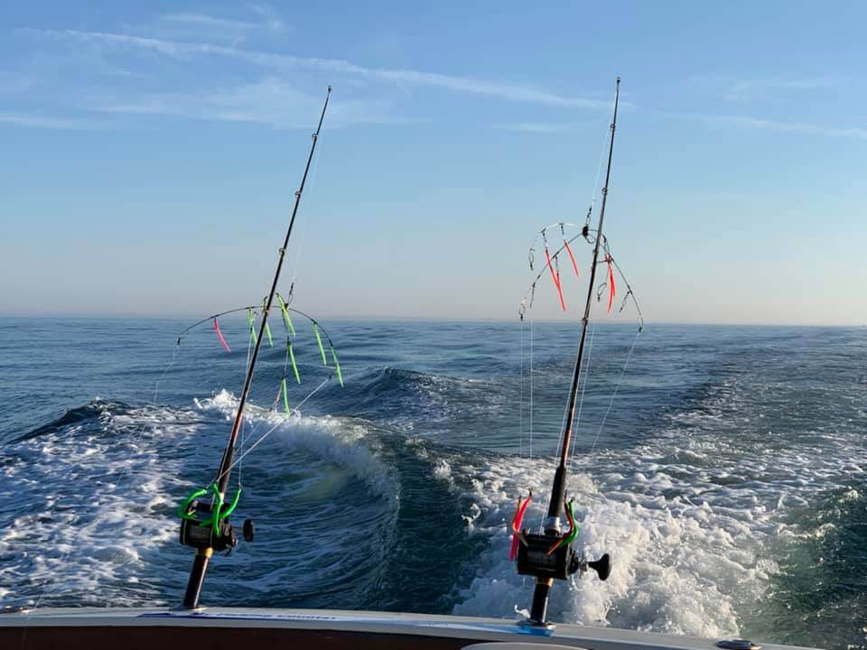 aces wild Rhode island striped bass fishing charters R3